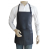 Short Bib Style Apron in Real Leather