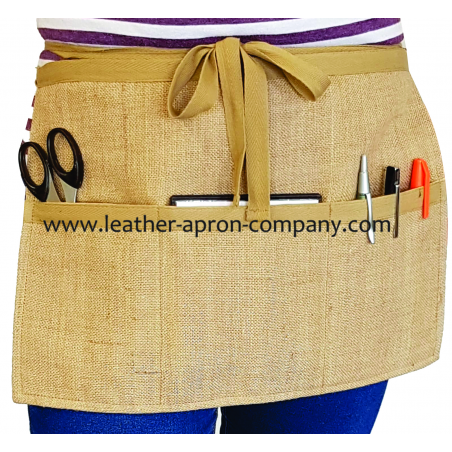 Hassien Ladies Apron in Qatar Length with 3 Pockets