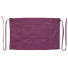 Burgundy Canvas Waist Apron With Pocket & Removable Canvas Waist Strap's
