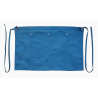 Teal Blue Canvas Waist Apron With Pocket & Removable Canvas Waist Strap's