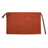 Tan Canvas Waist Apron With Pocket & Removable Real Leather Waist Strap's