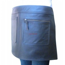 Leather Apron Quarter Length With Pockets